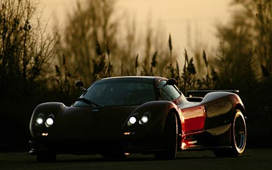 2002 Pagani Zonda S 7.3 wallpaper thumbnail.