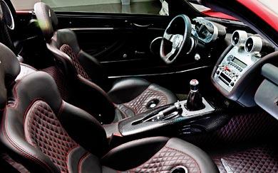 2003 Pagani Zonda Roadster wallpaper thumbnail.
