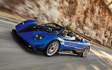 2006 Pagani Zonda Roadster F wallpaper thumbnail.