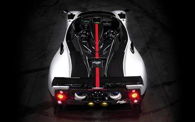2009 Pagani Zonda Cinque Roadster wallpaper thumbnail.
