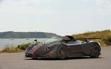 2018 Pagani Zonda Aether wallpaper thumbnail.