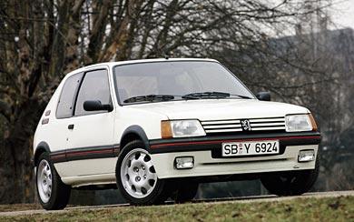 1984 Peugeot 205 GTI wallpaper thumbnail.