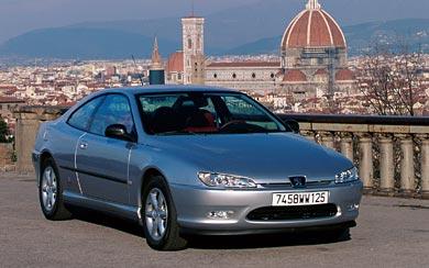 1997 Peugeot 406 Coupe wallpaper thumbnail.