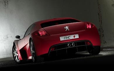 2002 Peugeot RC Concept wallpaper thumbnail.