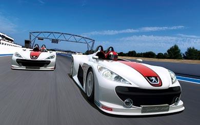 2006 Peugeot 207 Spider wallpaper thumbnail.