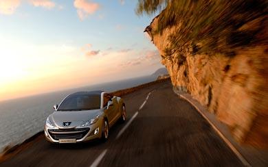 2007 Peugeot 308 RCZ Concept wallpaper thumbnail.