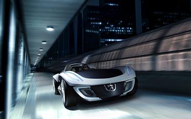 2007 Peugeot Flux Concept wallpaper thumbnail.