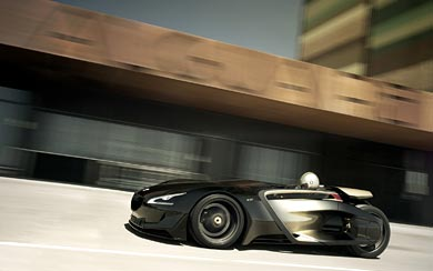 2010 Peugeot EX1 Concept wallpaper thumbnail.