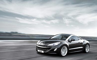 2010 Peugeot RCZ wallpaper thumbnail.