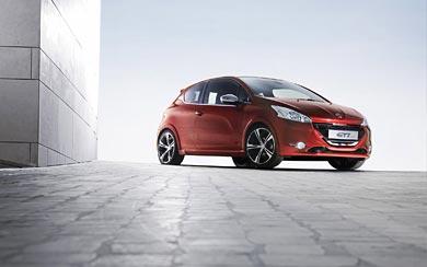 2012 Peugeot 208 GTi Concept wallpaper thumbnail.