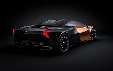 2012 Peugeot Onyx Concept wallpaper thumbnail.