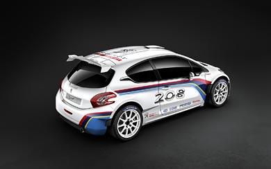 2013 Peugeot 208 R5 Rally Car wallpaper thumbnail.