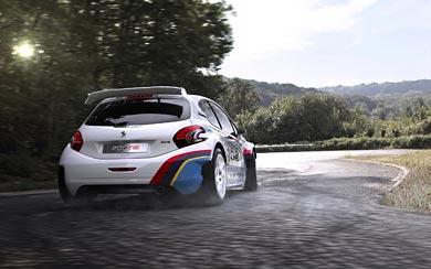 2013 Peugeot 208 T16 wallpaper thumbnail.