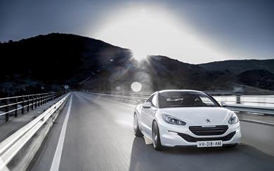 2013 Peugeot RCZ wallpaper thumbnail.