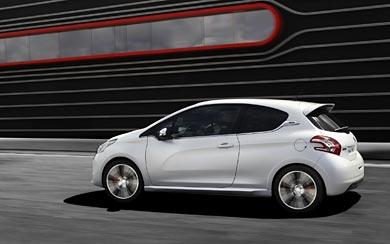 2014 Peugeot 208 GTi wallpaper thumbnail.