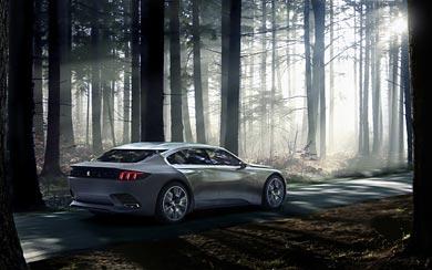 2014 Peugeot Exalt Concept wallpaper thumbnail.