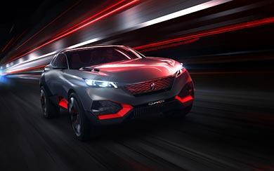 2014 Peugeot Quartz Concept wallpaper thumbnail.