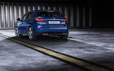 2015 Peugeot 308 GT wallpaper thumbnail.