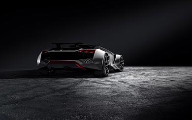 2015 Peugeot Vision Gran Turismo Concept wallpaper thumbnail.