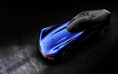 2016 Peugeot L500 R HYbrid Concept wallpaper thumbnail.