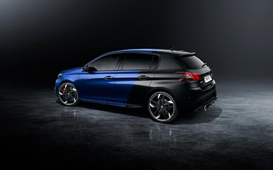 2018 Peugeot 308 GTi wallpaper thumbnail.