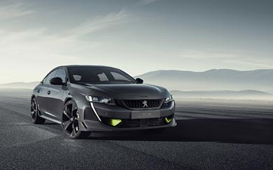 2019 Peugeot 508 Sport Engineered Concept wallpaper thumbnail.