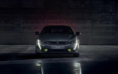 2019 Peugeot 508 Sport Engineered Concept wallpaper thumbnail.