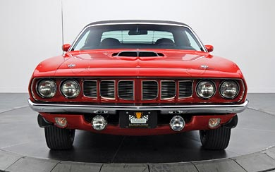 1971 Plymouth Hemi Barracuda wallpaper thumbnail.