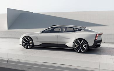 2020 Polestar Precept Concept wallpaper thumbnail.