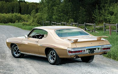 1970 Pontiac GTO 455 HO Hardtop Coupe wallpaper thumbnail.