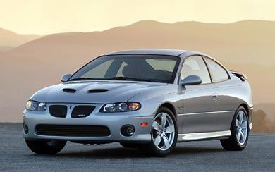 2005 Pontiac GTO wallpaper thumbnail.
