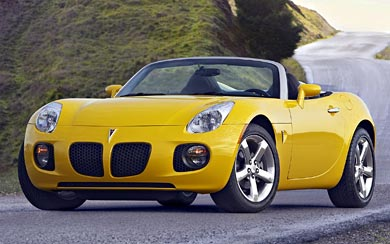 2007 Pontiac Solstice GXP wallpaper thumbnail.
