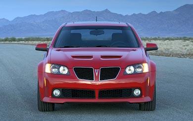2008 Pontiac G8 GT wallpaper thumbnail.