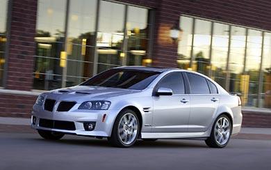 2009 Pontiac G8 GXP wallpaper thumbnail.