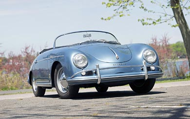 1955 Porsche 356A wallpaper thumbnail.