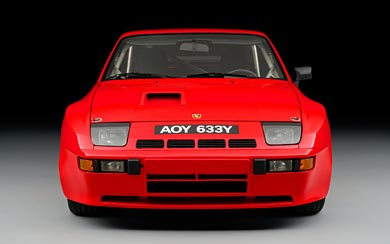 1981 Porsche 924 Carrera GTS wallpaper thumbnail.