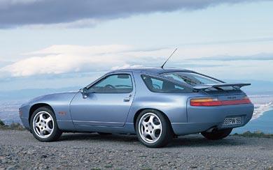 1991 Porsche 928 GTS wallpaper thumbnail.