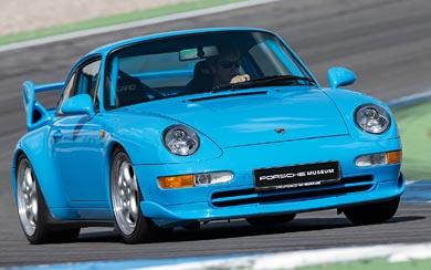 1995 Porsche 911 Carrera RS Clubsport wallpaper thumbnail.