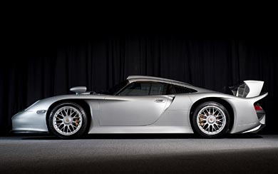 1997 Porsche 911 GT1 wallpaper thumbnail.