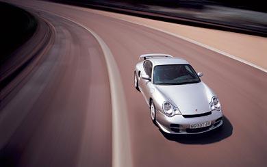 2002 Porsche 911 GT2 wallpaper thumbnail.