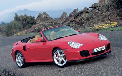 2002 Porsche 911 Turbo wallpaper thumbnail.