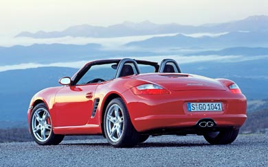 2005 Porsche Boxster S wallpaper thumbnail.