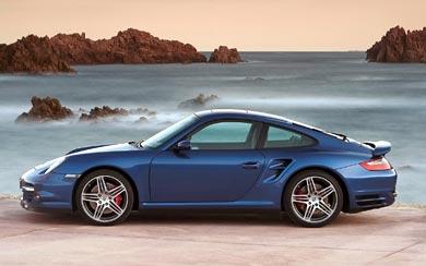 2007 Porsche 911 Turbo wallpaper thumbnail.