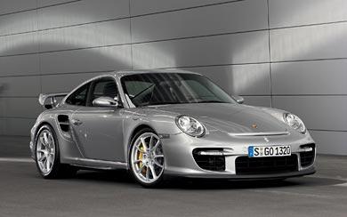 2008 Porsche 911 GT2 wallpaper thumbnail.