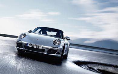 2009 Porsche 911 Carrera wallpaper thumbnail.