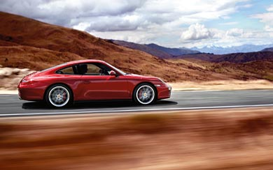 2009 Porsche 911 Carrera 4S wallpaper thumbnail.