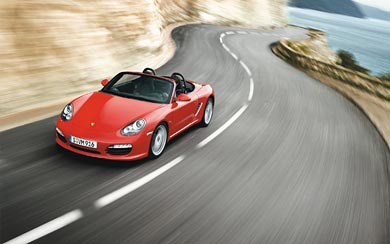 2009 Porsche Boxster S wallpaper thumbnail.