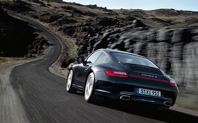 2010 Porsche 911 Carrera 4 wallpaper thumbnail.