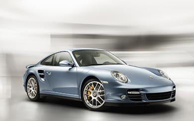 2010 Porsche 911 Turbo S wallpaper thumbnail.