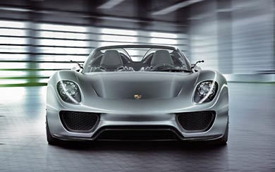 2010 Porsche 918 Spyder Concept wallpaper thumbnail.